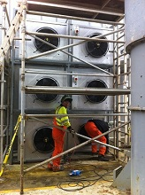 Ensco 72 – Installation of X3 New Air Conditioning Units In The SCR Room