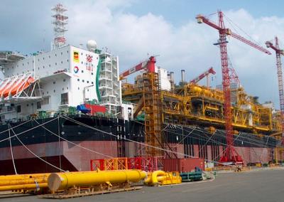 FPSO Dalia (Total) – Singapore to Mozambique