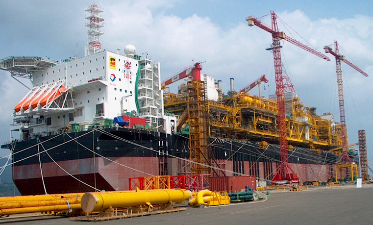 FPSO Dalia (Total) – Singapore to Mozambique