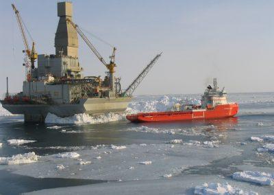 Orlan Platform (Exxonmobil) – Sakhalin Island, Russia