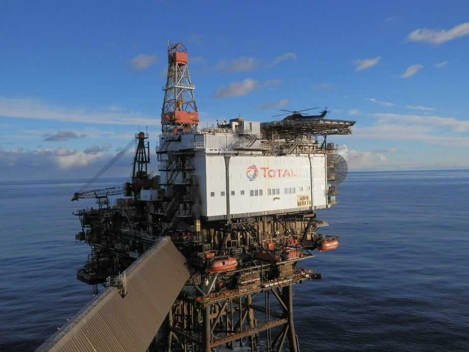 North Alwyn Platform Total E Amp P Uk Tradewinds