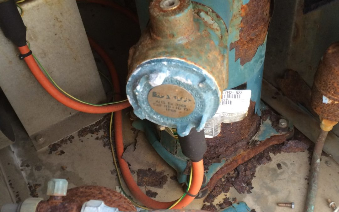ENSCO 101 – ATEX Compressor Replacement