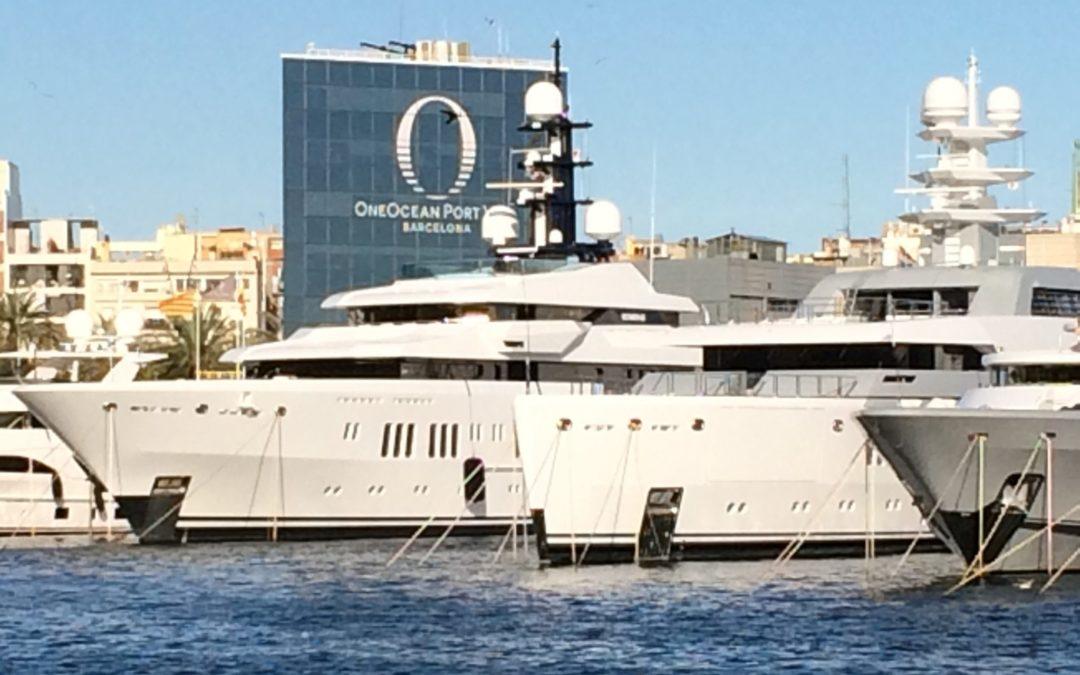 Burgess Superyachts – MY Lady A – AHU Installation